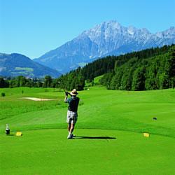 Golfen am Golfplatz Urslautal
