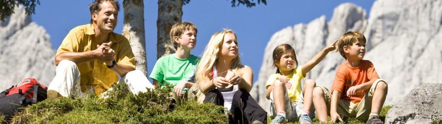 Urlaub für Familien - Pension Reiterhof Maria Alm